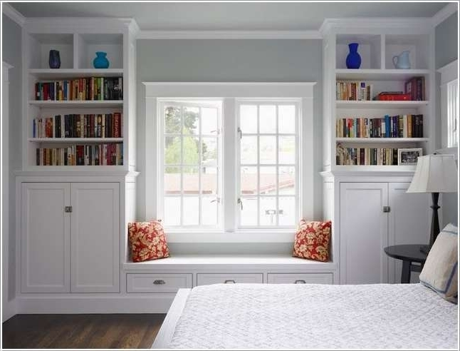 10 Awesome Bedroom Bookcase Ideas That You Will Admire Regarding Recent Bedroom Bookcases (Gallery 11 of 15)