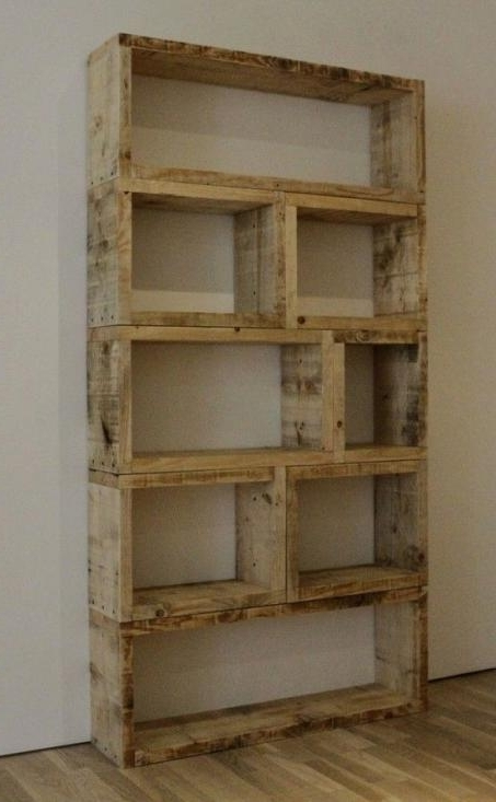 10 Diy Unique Cheap Bookshelves For Your Favourite Books (Awesome With Regard To Popular Cheap Bookcases (Gallery 4 of 15)