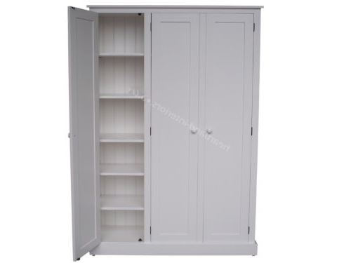 [%100% Solid Wood Cupboard, Large 3 Door Triple White Painted Larder With Regard To Well Liked Large Storage Cupboards|Large Storage Cupboards For Newest 100% Solid Wood Cupboard, Large 3 Door Triple White Painted Larder|Popular Large Storage Cupboards Pertaining To 100% Solid Wood Cupboard, Large 3 Door Triple White Painted Larder|Recent 100% Solid Wood Cupboard, Large 3 Door Triple White Painted Larder Regarding Large Storage Cupboards%] (View 1 of 15)