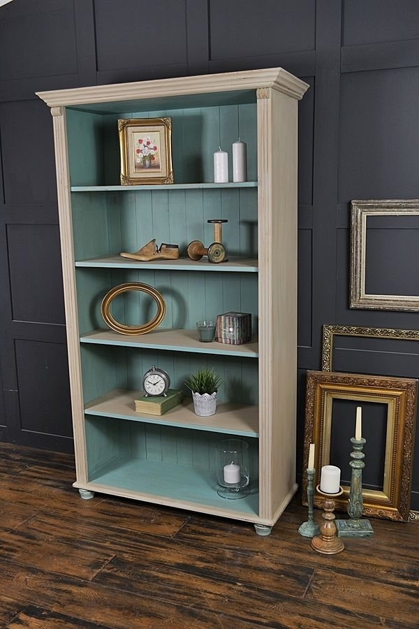 1000 Ideas About Shabby Chic Bookcase On Pinterest Pine Shabby Throughout 2017 Shabby Chic Bookcases (View 1 of 15)