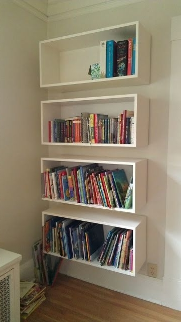 Featured Photo of Floating Bookcases