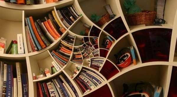 15 Unique Bookshelf Decorating Ideas – Home And Gardening Ideas Pertaining To Most Up To Date Unique Bookcases (Gallery 9 of 15)