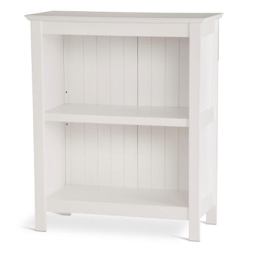 2 Shelf Bookcase White Bookshelves Target 5 Sauder 10 Trestle 3 Inside Current Two Shelf Bookcases (View 1 of 15)