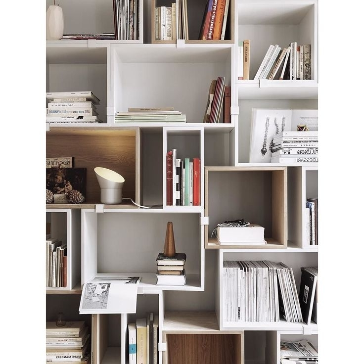 20 Best Bookshelves And Shelving Systems Images On Pinterest With Regard To Best And Newest Book Shelving Systems (View 1 of 15)