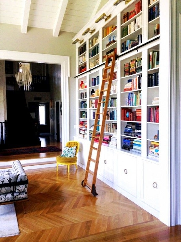 2017 Best 25 Bookcase With Ladder Ideas On Pinterest Library Ladder With Bookcases With Ladder (View 1 of 15)