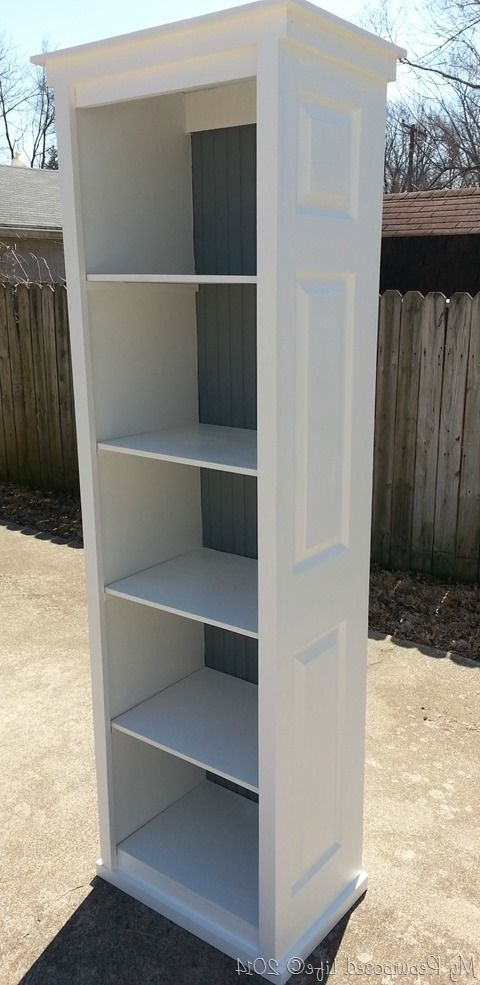 2017 Bi Fold Door Bookshelf (View 1 of 15)