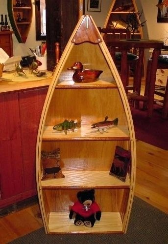 2017 Boat Shaped Bookcase – Pedinidc Intended For Boat Bookcases (View 2 of 15)
