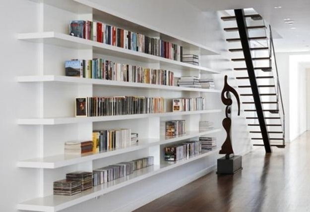 2017 Book Shelves For Personal Library Decorating And Design In Style Intended For Home Library Shelving Systems (View 1 of 15)