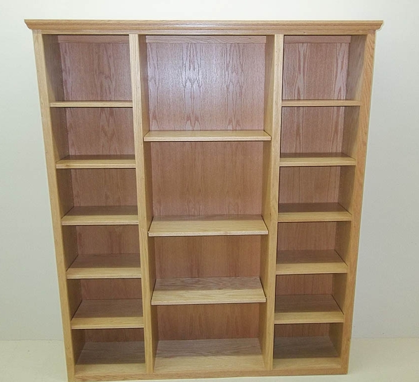 2017 Bookcases Ideas: Amish Bookcases Furniture In Solid Wood Bookcases Throughout Solid Oak Bookcases (View 1 of 15)