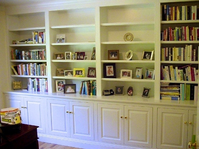 2017 Bookshelves With Cabinet Base Throughout Bookshelves With Base Cabinet (View 1 of 15)