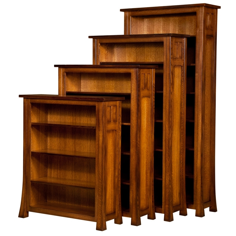 2017 Bridgefort Mission Open Bookcase (View 1 of 15)