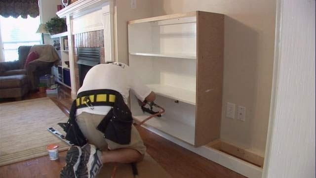 2017 Built In Bookcases Kit Regarding Wall Units: Extraordinary Built In Bookcase Kit Built In Bookcase (View 1 of 15)