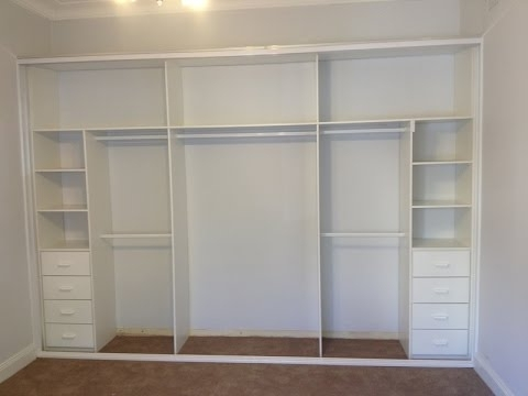 2017 Built In Cupboards Throughout Built In Wardrobes For Small Bedrooms Design Ideas – Youtube (View 3 of 15)
