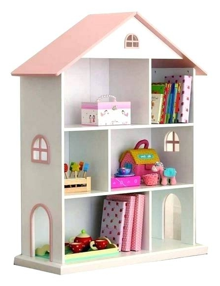 2017 Dollhouse Bookcase Dollhouse Cottage Bookcase Pottery Barn For Dollhouse Bookcases (View 1 of 15)