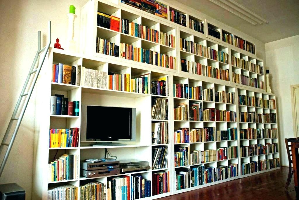 2017 Full Wall Bookcases Full Wall Coverage Full Wall Shelves Diy Inside Full Wall Bookcases (View 1 of 15)