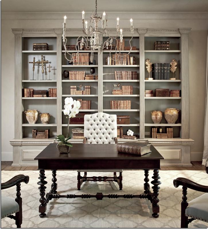 2017 Interior Designer Tami Owen, Robert Dame Of Robert Dame Designs Intended For Classic Bookshelves (View 1 of 15)