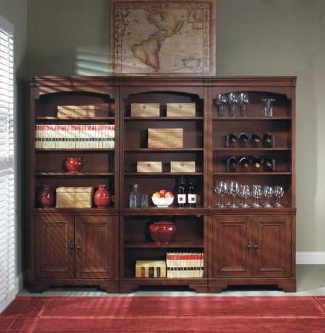 2017 Library Bookcases Wall Unit For Richmond Bookcase Wall Unit Bookcase Traditional Bookcases Library (View 15 of 15)