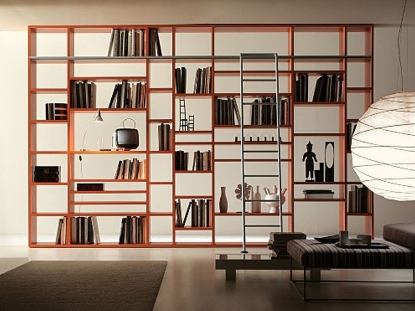 2017 Library Shelves For Home For Amazing Modern Home Library Shelves Design – 4 Home Ideas (Gallery 7 of 15)