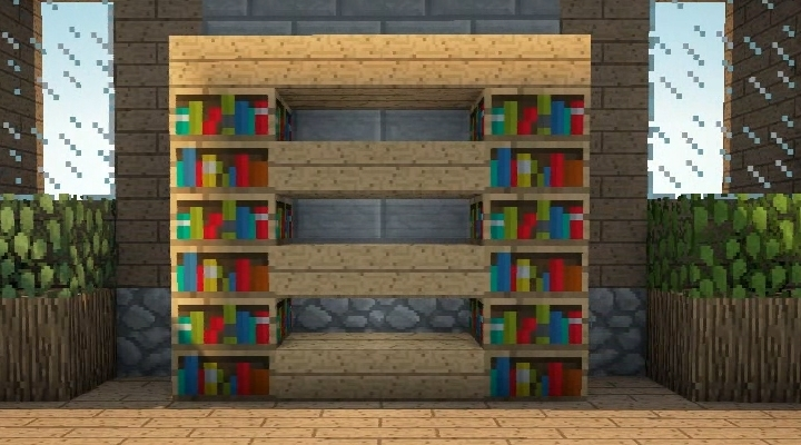 2017 Minecraft Bookcases Intended For Minecraft Furniture – Storage (View 2 of 15)