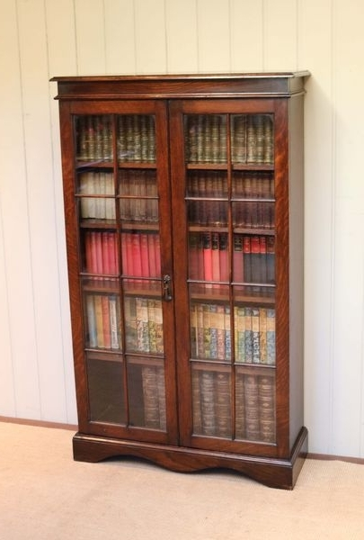 2017 Oak Glazed Bookcases Throughout Oak Glazed Bookcase (C (View 2 of 15)