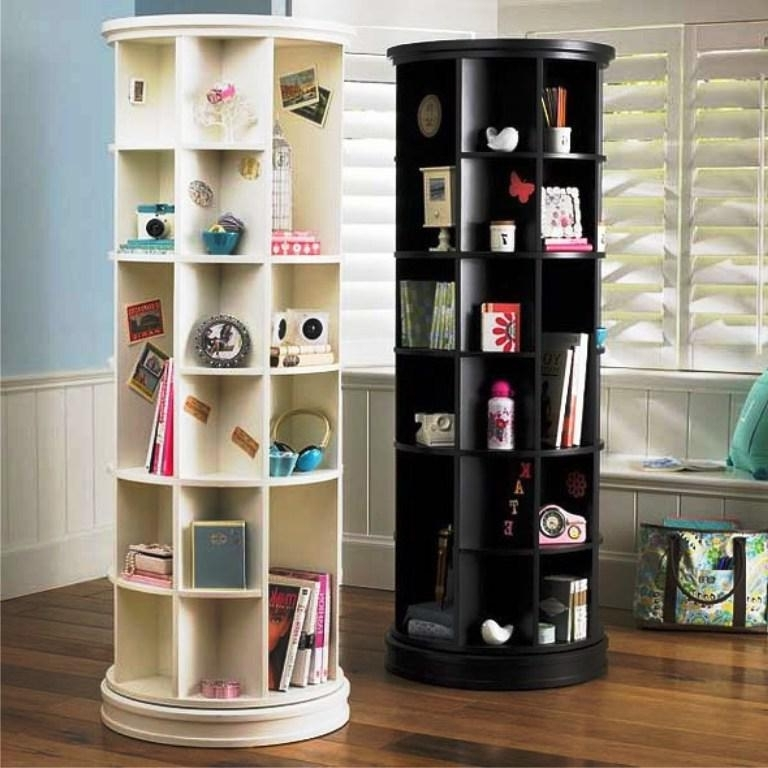 2017 Rotating Bookcases Pertaining To Amazing Revolving Bookcase Designs (View 9 of 15)