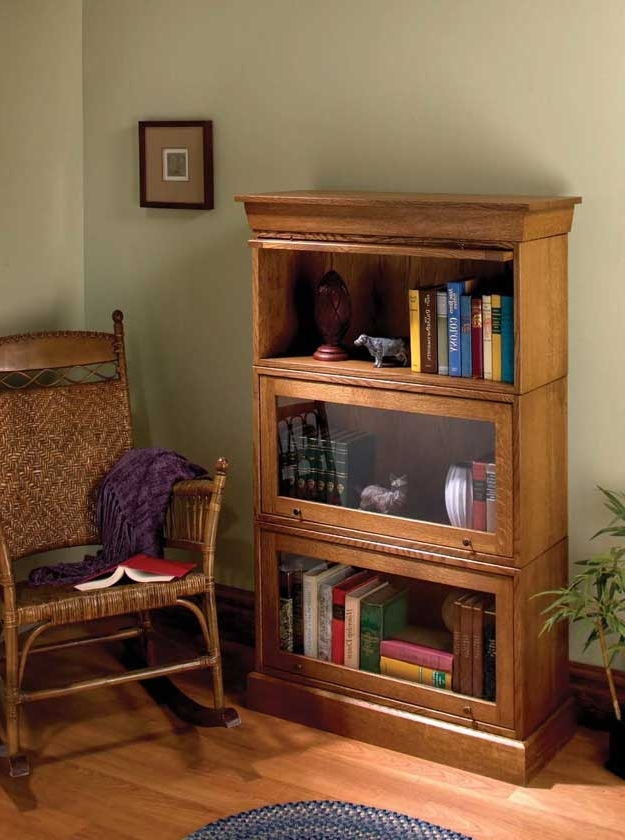 2017 Simple Barrister Bookcases – Popular Woodworking Magazine With Regard To Barrister Bookcases (View 2 of 15)