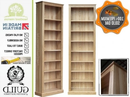 2017 Tall Bookcases For Handmade 8Ft Tall Bookcases With Care From Heartland Interiors (View 2 of 15)
