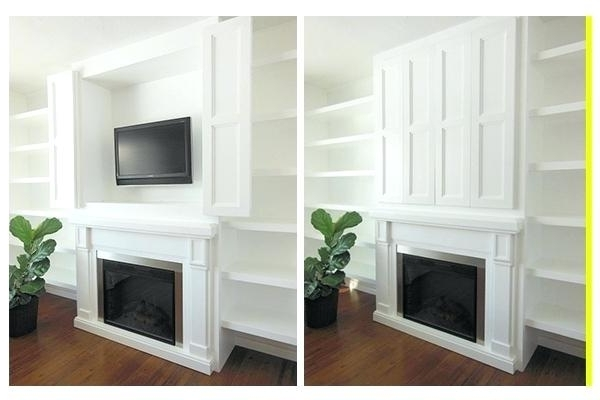 2017 Tv Cabinet Hide Tv How To Hide Wires Ghosted Image Of Tv Units To Intended For Hidden Tv Units (View 1 of 15)