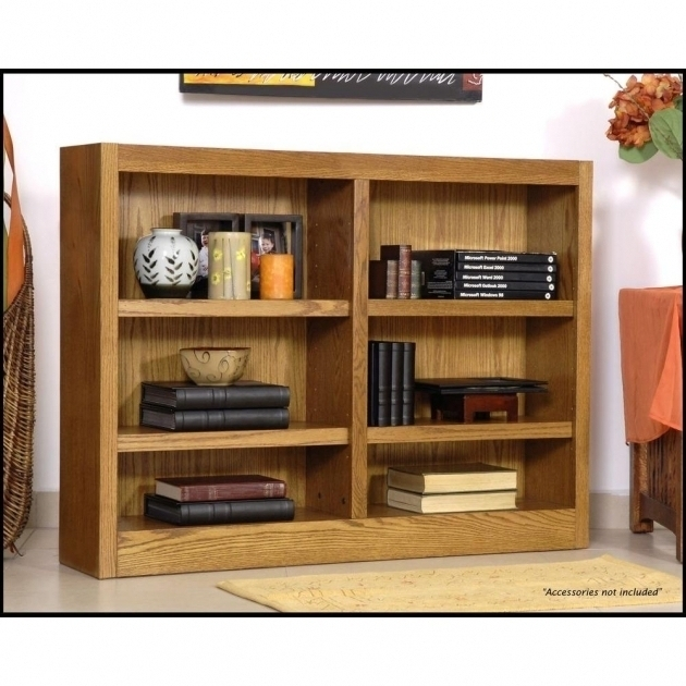2018 40 Inch Wide Bookcases Throughout Wood Midas Double Wide 6 Shelf 40 Inch Wide Bookcase Images  (View 2 of 15)