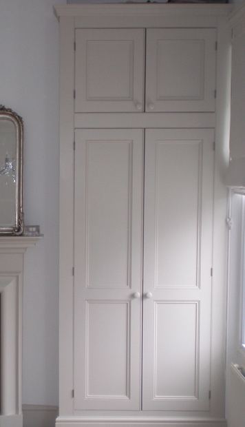 2018 Bespoke Cupboard With Regard To Tall Alcove Wardrobes Custom Madepeter Henderson Furniture (View 1 of 15)