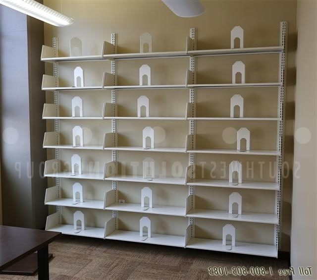 2018 Book Shelving Systems Pertaining To Wall Cantilever Book Shelving (View 2 of 15)