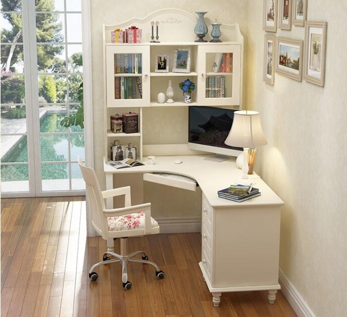 Featured Photo of Study Desk With Bookshelves