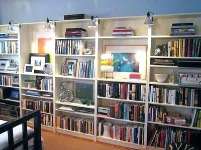 2018 Bookshelf Lighting Bookshelf Lighting Bookcase Lighting Medium Throughout Bookcases Lighting (View 10 of 15)