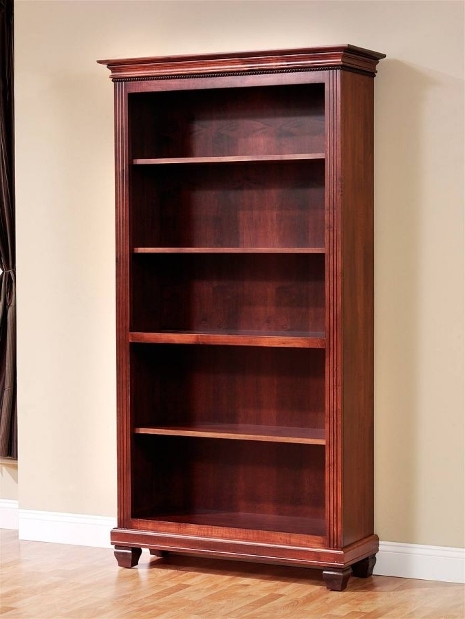 2018 Cherry Bookcases With Regard To Cherry Bookshelves (View 1 of 15)