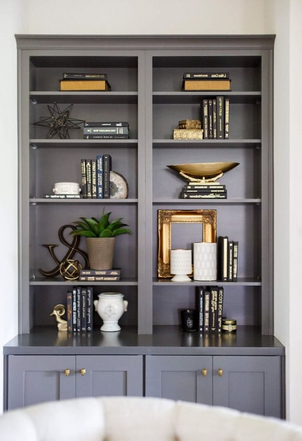 2018 Color Bookcase Amazing Ideas #1 Best 25+ Painted Bookshelves Ideas Pertaining To Painted Bookshelves (View 11 of 15)