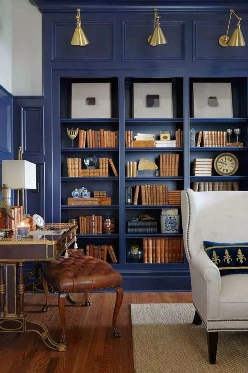 2018 Colored Bookcases Inside Bookshelf: Marvellous Colored Bookcase Oak Colored Bookcases (View 2 of 15)