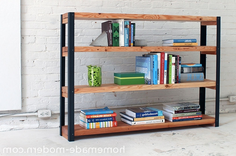 2018 Homemade Modern Ep36 Ironbound Bookcase For Homemade Bookcases (View 1 of 15)