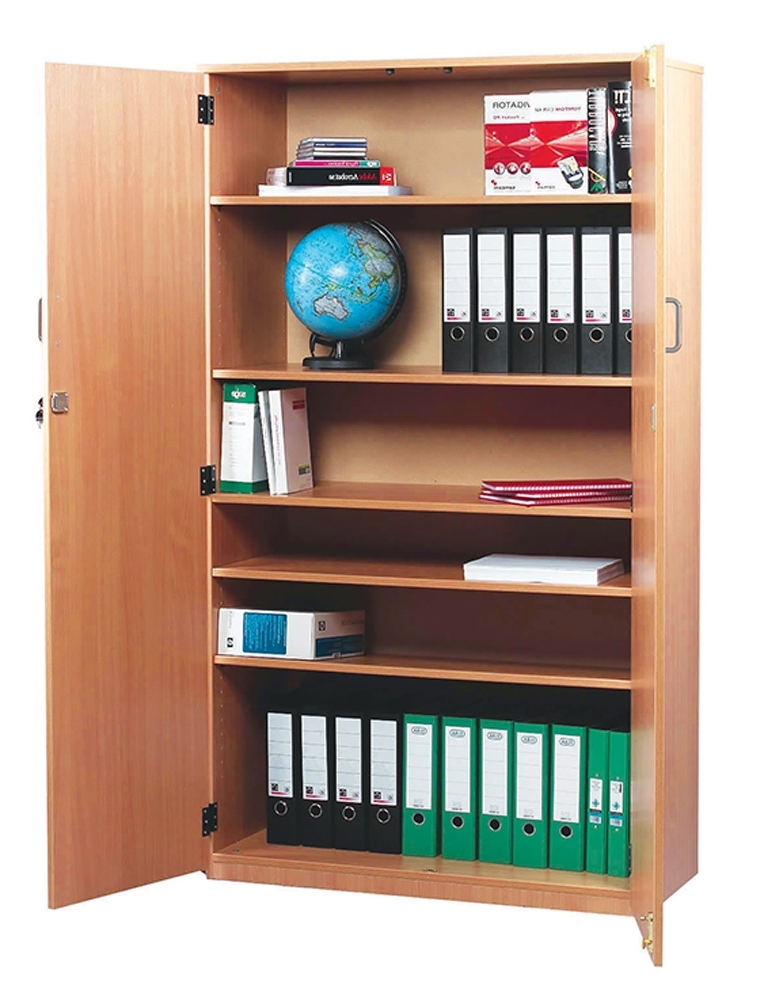 2018 Large Cupboard With Shelves Inside School Storage Cupboards (View 2 of 15)