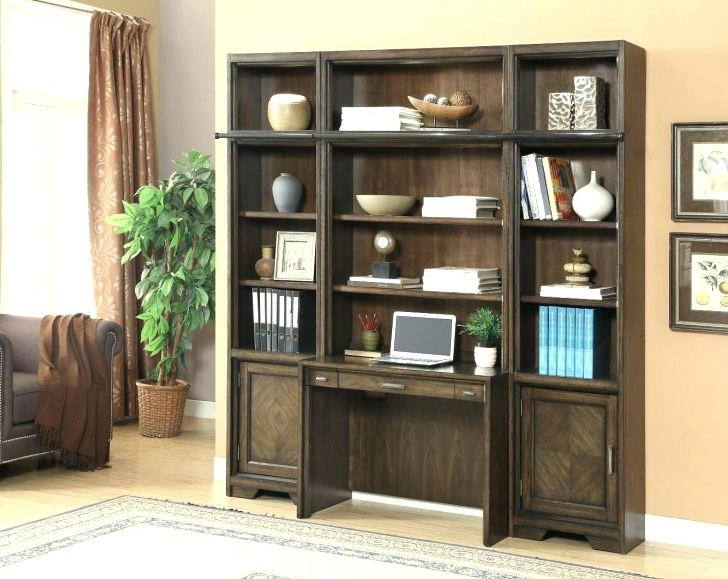 2018 New Home Library Wall Units Designing Inspiration Custom Bookcases With Home Library Wall Units (View 11 of 15)