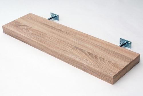 2018 Oak Floating Shelf Kit 900X250X50Mm – Mastershelf Intended For Oak Shelves (View 1 of 15)