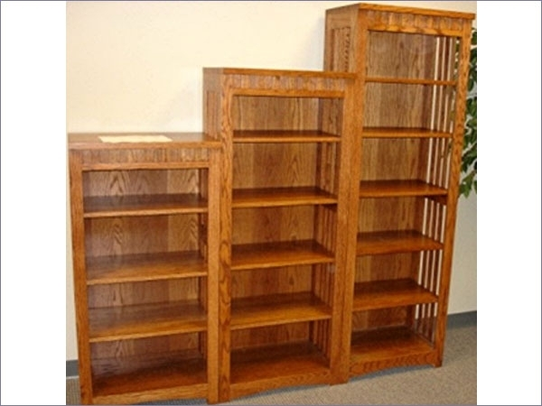 2018 Seattle Mission Traditional Bookcases Finished And Unfinished Within Mission Style Bookcases (View 2 of 15)