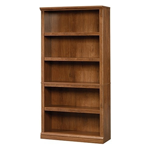 2018 Solid Wood Bookshelf: Amazon Intended For Wood Bookcases (View 3 of 15)