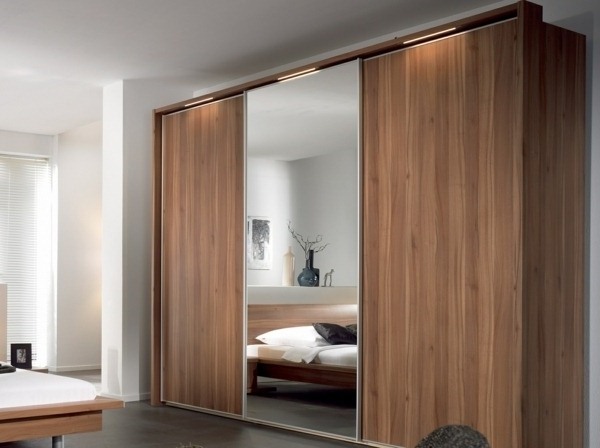 2018 Solid Wood Fitted Wardrobes Doors With Regard To 19 Great Ideas Of Wardrobe With Sliding Doors – Homedizz (View 1 of 15)