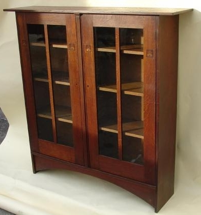 2018 Stickley Bookcases With Regard To 1903 Gustav Stickley Harvey Ellis Designed Inlaid Bookcase (View 1 of 15)