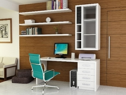 2018 Study Wall Unit Designs Pertaining To Study Table Designs For Students (View 1 of 15)