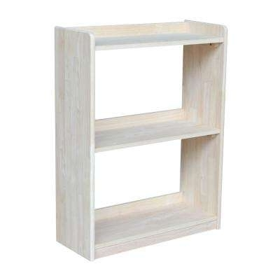 2018 Unfinished Bookcases Intended For Unfinished Wood – Bookcases – Home Office Furniture – The Home Depot (View 6 of 15)