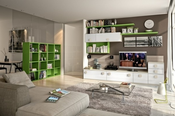 2018 Wall Units For Living Room With Modern Living Room Wall Units With St Wall Unit Designs For Living (View 2 of 15)