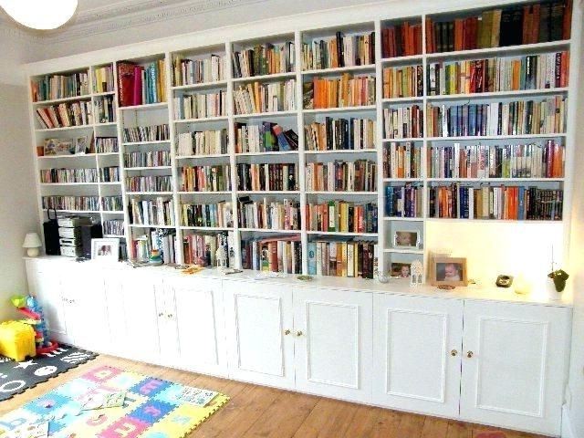 2018 Whole Wall Bookshelves Regarding Full Wall Shelving Full Wall Bookshelves Whole Wall Bookshelf (View 1 of 15)
