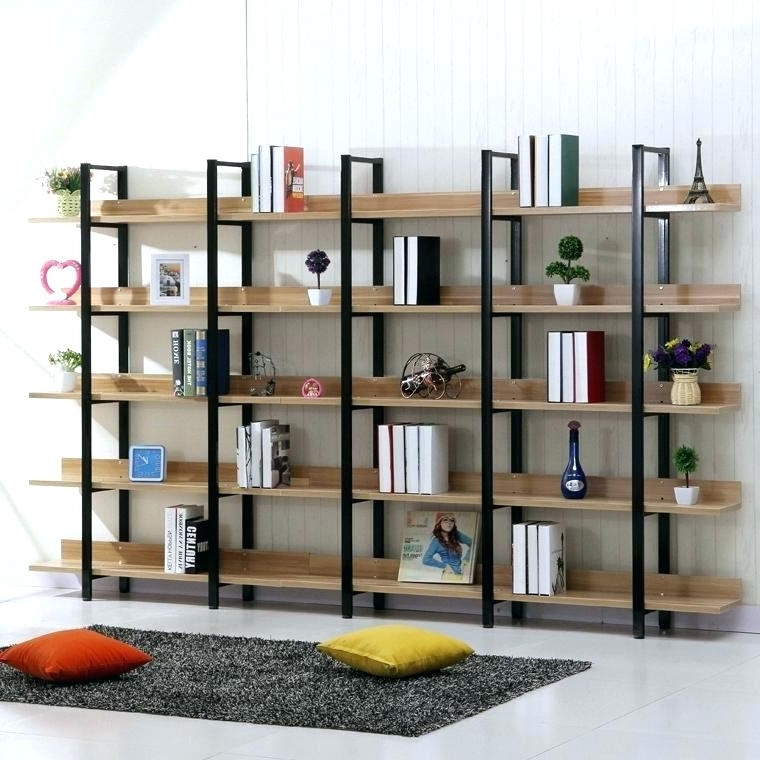 2018 Wrought Iron Book Shelves Wrought Iron Bookcase Landmark Creative Regarding Study Shelving (View 4 of 15)