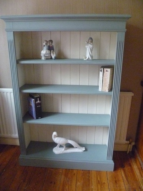25 Best Painted Bookcases Trending Ideas On Pinterest Painting For With Regard To 2017 White Painted Bookcases (View 4 of 15)